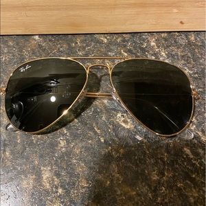Big kids Ray Ban Aviators